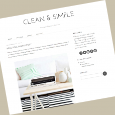 blogger-template-clean-and-simple