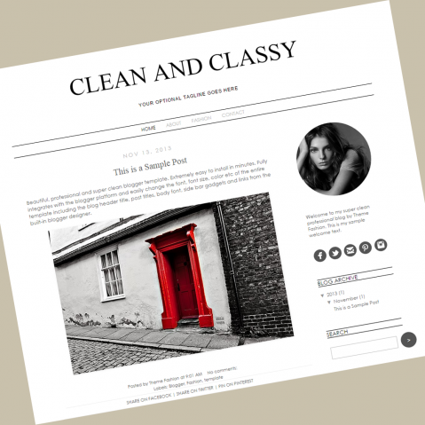 blogger-template-cleanandclassy