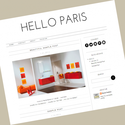 blogger-template-hello-paris