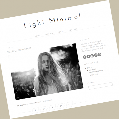 blogger-template-minimal