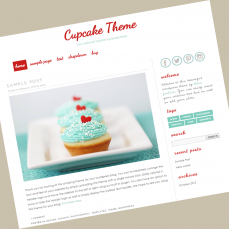 wordpress-theme-cupcake