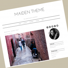 wordpress-theme-maiden