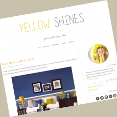 wordpress-theme-yellowshines